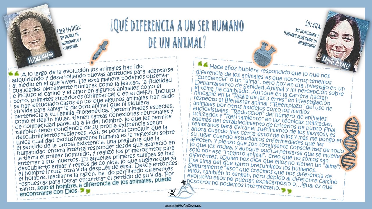 ¿Qué diferencia verdaderamente un ser humano de cualquier otro animal?🙈 ¿Qué es lo que nos hace únicos, especiales?🐶 Durante muchos sigl