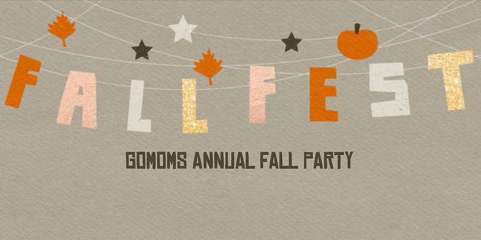 goMOMS Annual Fall Party