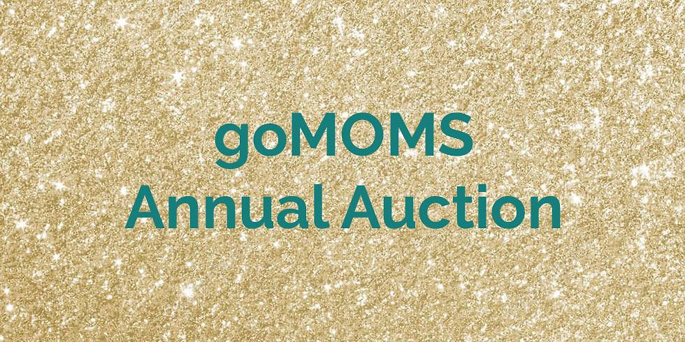 goMOMS Annual Auction