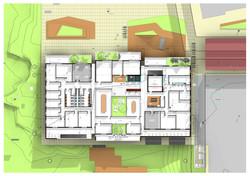 בניין משרדים ומסחר