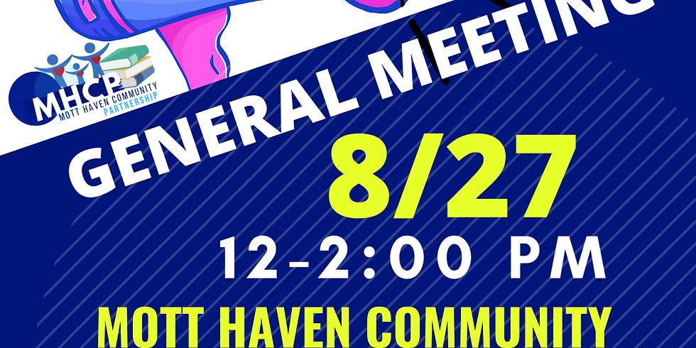 Mott Haven CP General Meeting