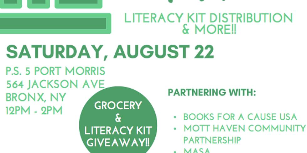 Community Drive: Literacy Kit Distribution & More