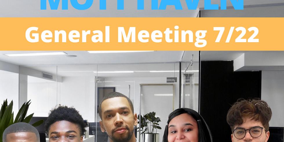 General Meeting 7/22