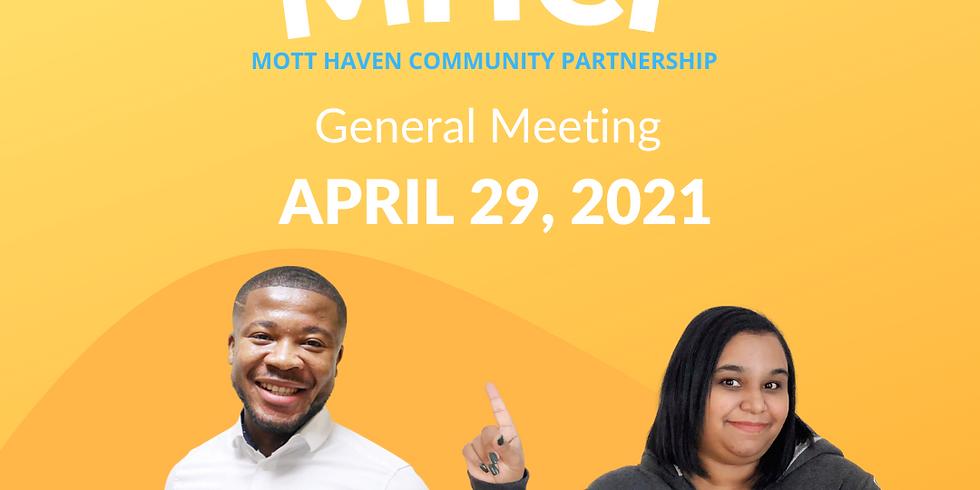 General Meeting 4/29