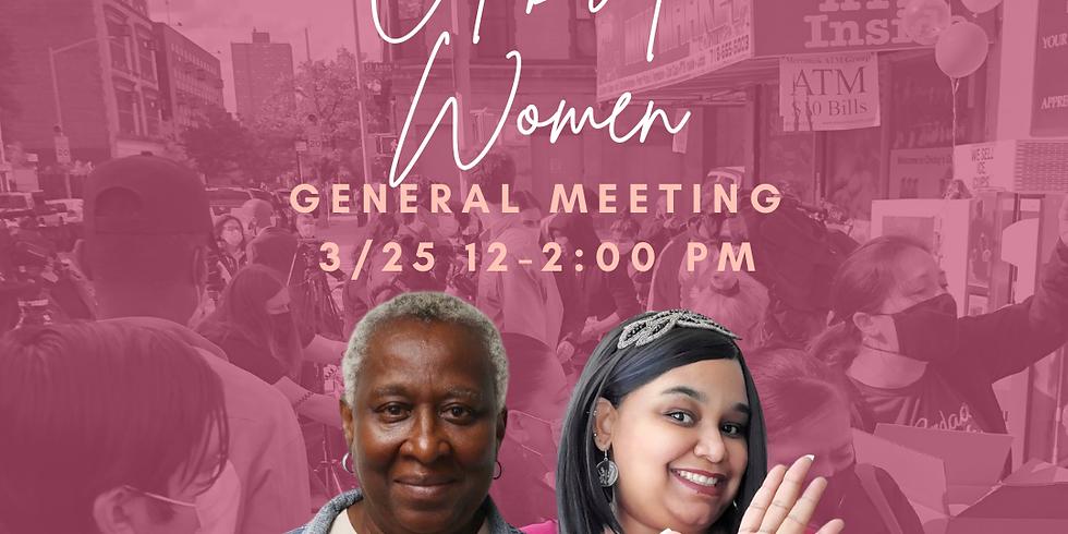 General Meeting 3/25