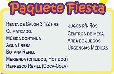 Paquete Salon de Fiestas Monterrey Piñata