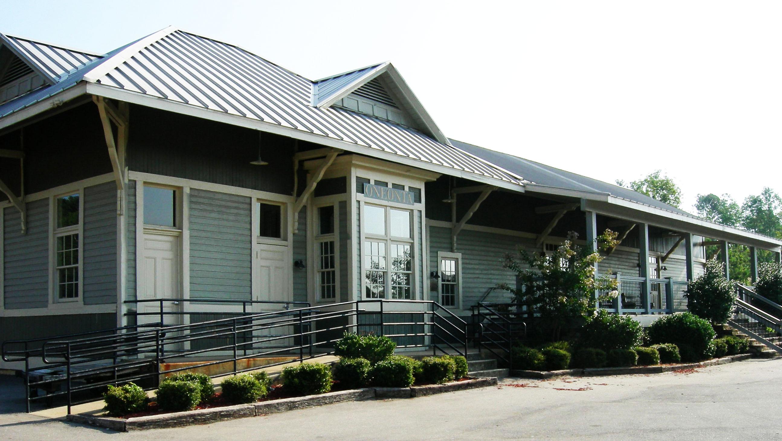 Historic Oneonta Train Depot