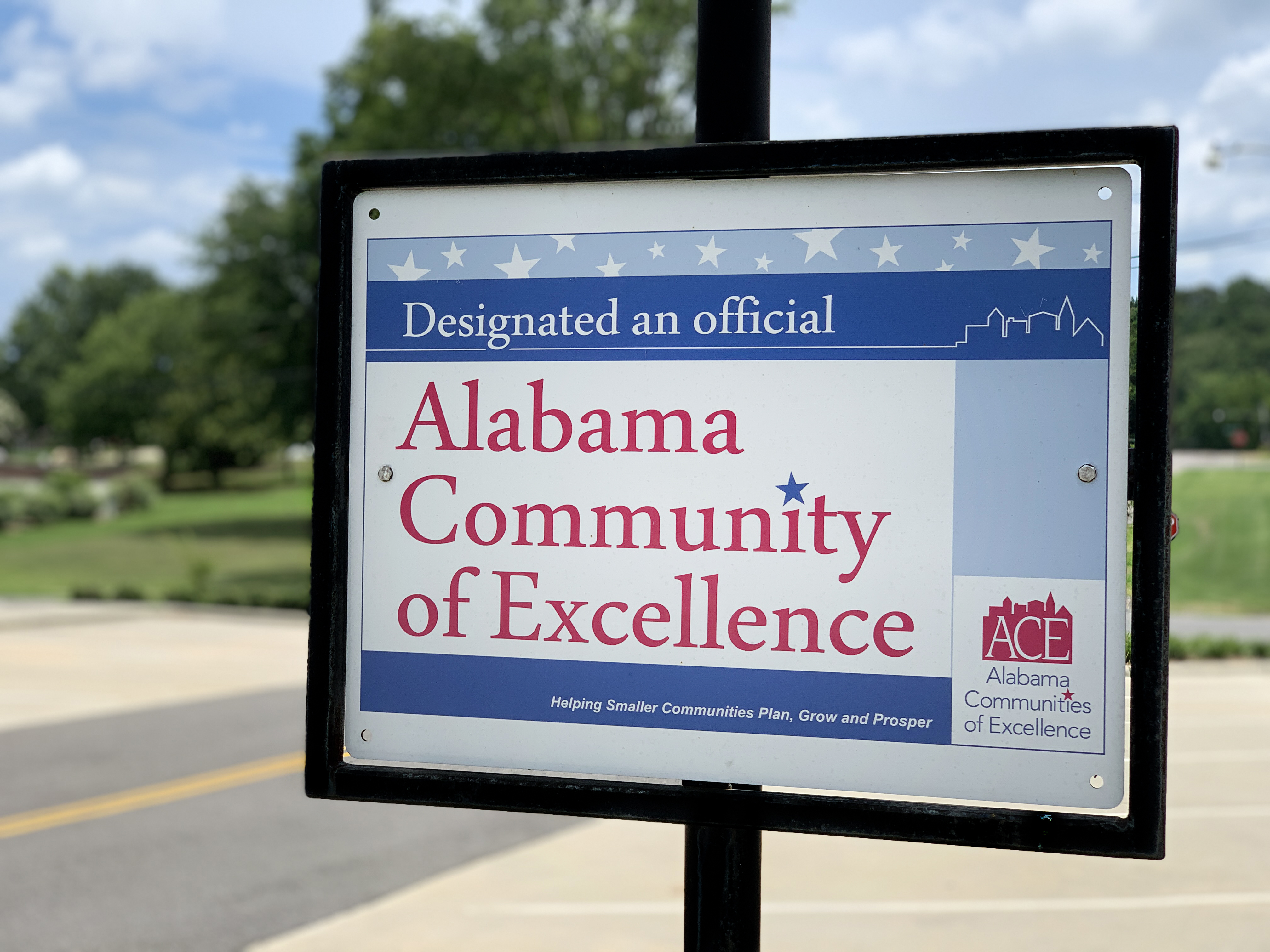 Community of Excellence Placard