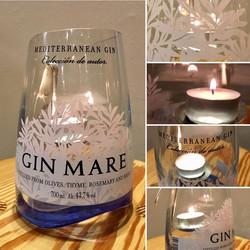 Gin Mare alfresco tea light holder