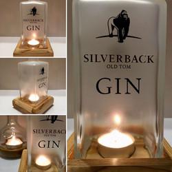 Silverback alfresco tea light holder