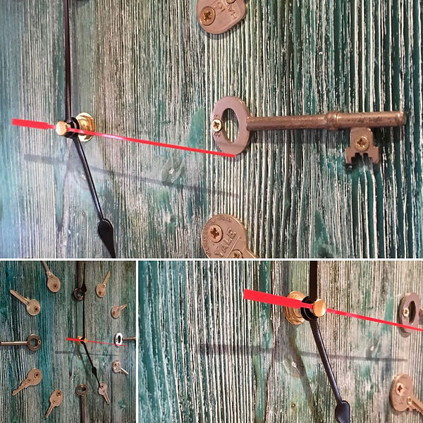 Old Key Wall Clock
