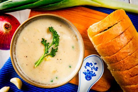 20. Sweet potato and leek soup - 4133.jp