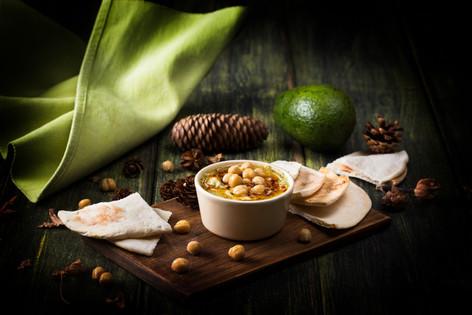 3. Avocado Hummus with crusty bread - 66