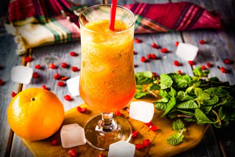 27. Pomergranate Orange Mint Cooler - 43