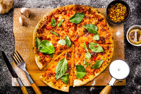 9. Thai style Nana pizza - 5349.JPG