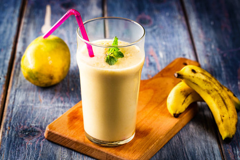 10. Manba a drink with mango yogurt and