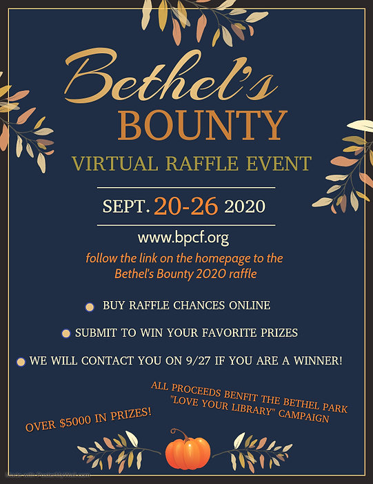 Bethel's Bounty 2020 Virtual Raffle