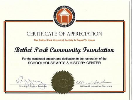 Bethel Park Historical Society  & Bethel Park Volunteer Fire Company Open Houses
