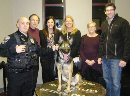 Jeez - Bethel Park Police Department K-9 Dog