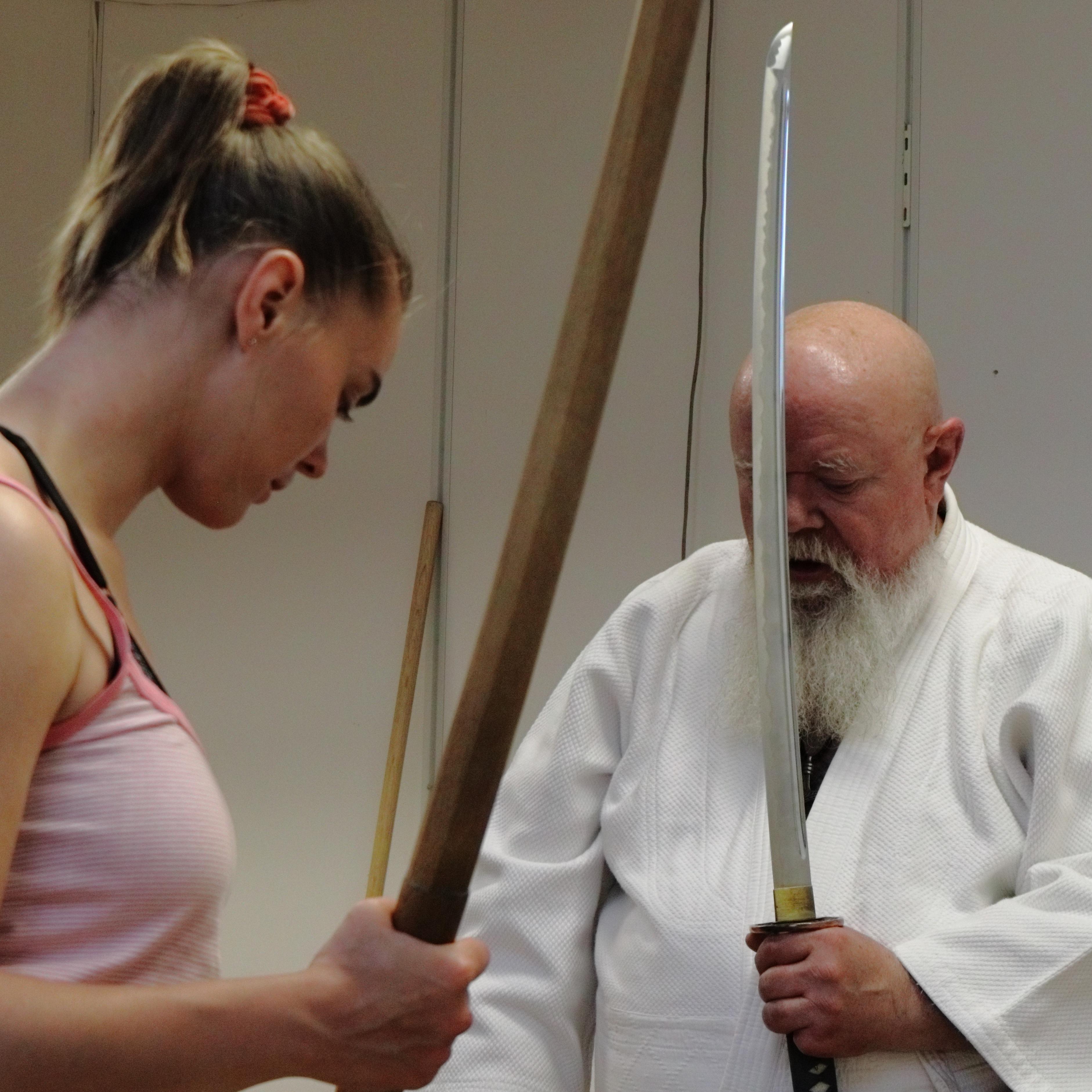 Sword Practicing