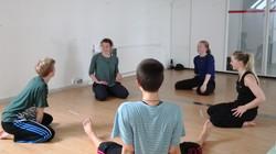 Dancers meeting