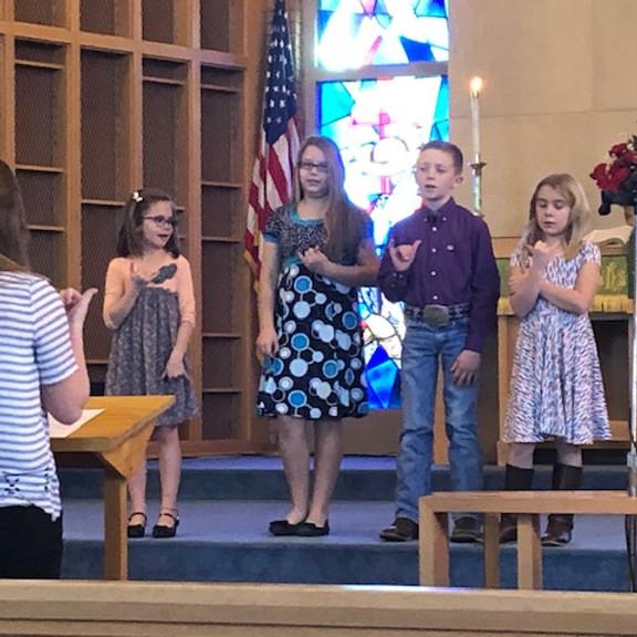 Methodist Children's Choir---TBA
