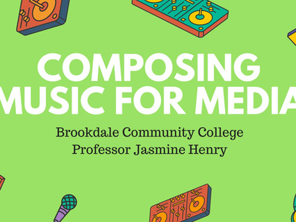 Composing Music for Media Brookdale Comm