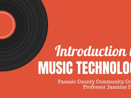 Jasmine Henry Music Technology Passaic C