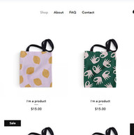 Online Store Bags