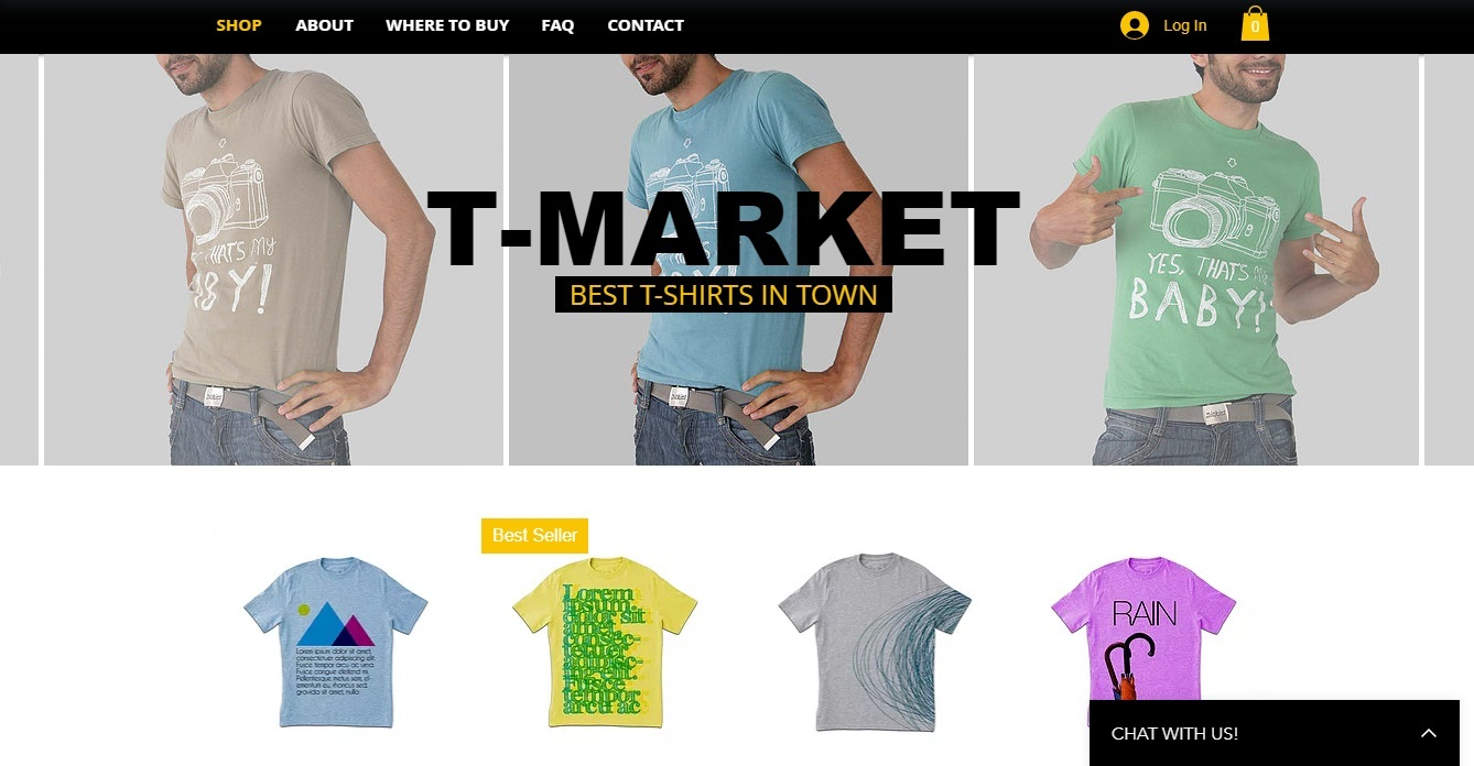 Wix stores 1