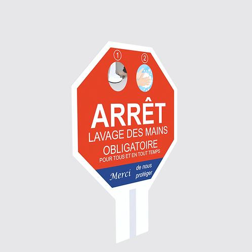 Affiche pour Trépied Sans Contact