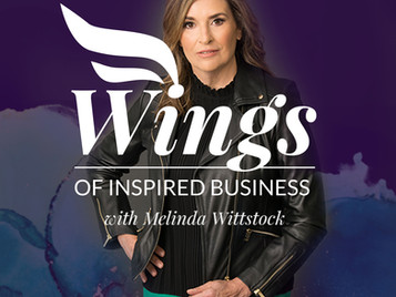 Melinda Wittstock of Wings of Inspired Business talks with Tevis