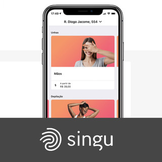 Tech company that deliver a SINGUlar experience on beauty and wellness services, through a mobile application