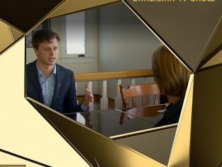 Jeremy Gardner on Brazilian TV show