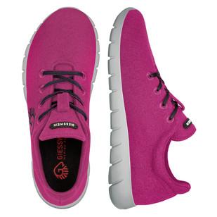 Farbe Traube - Damen Merino Runners
