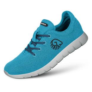 Farbe Türkis - Damen Merino Runners
