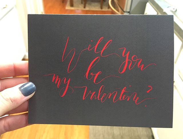 """h for the A2 """"Will you be my Valentine_"""""""
