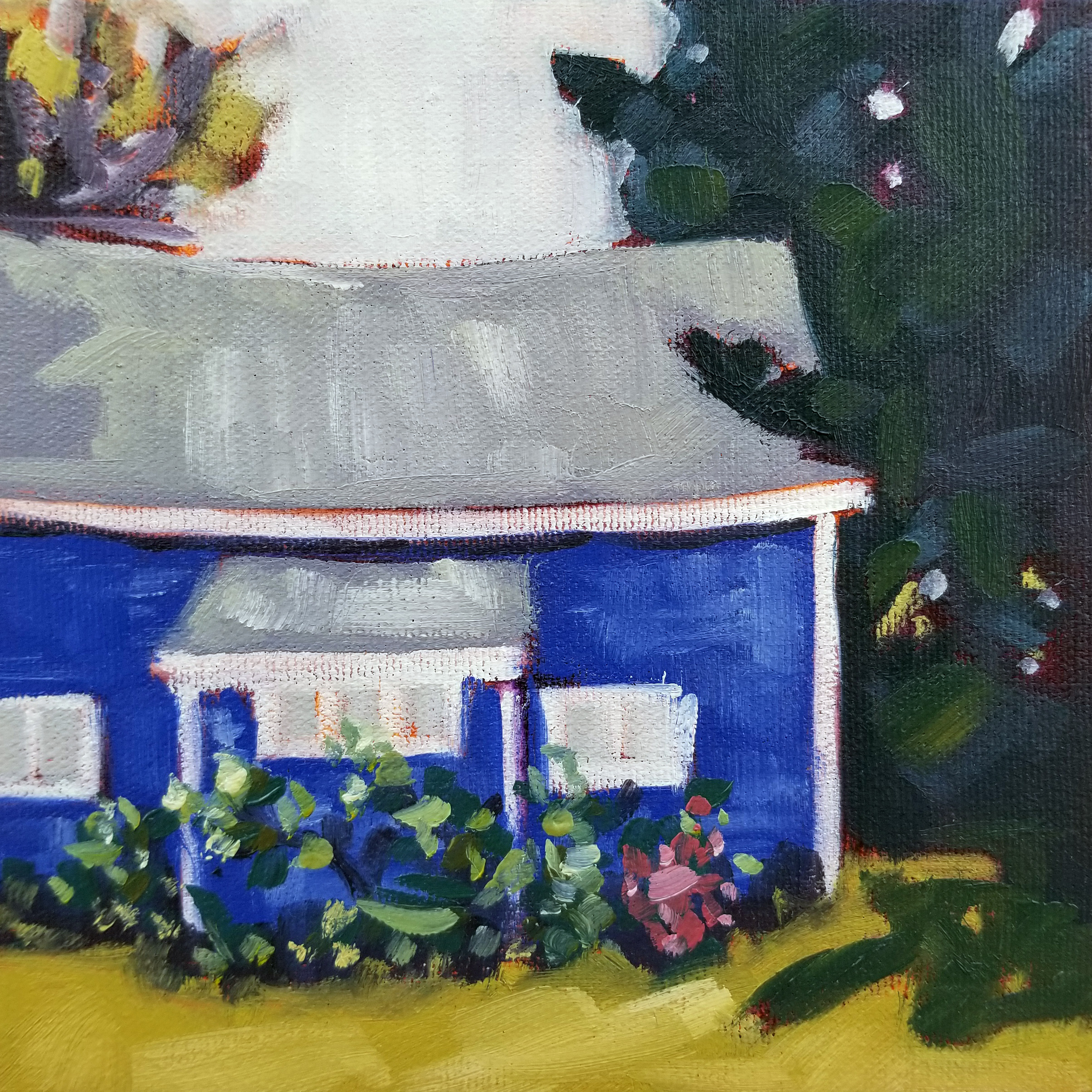 Little Blue House