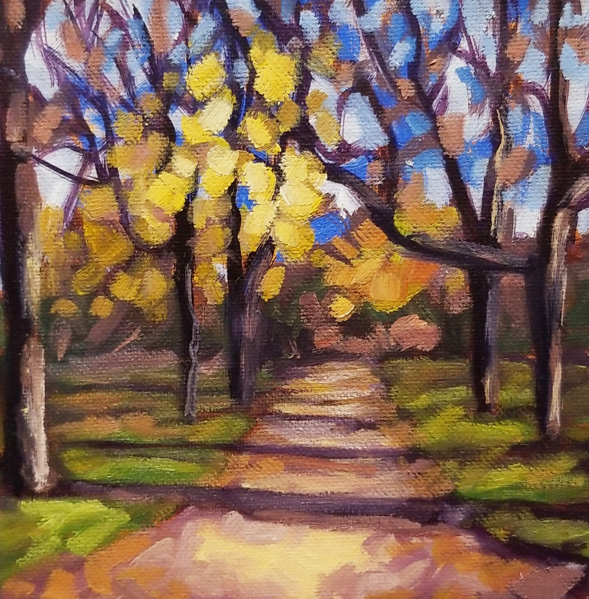 Path at Dundurn Castle - 6x6