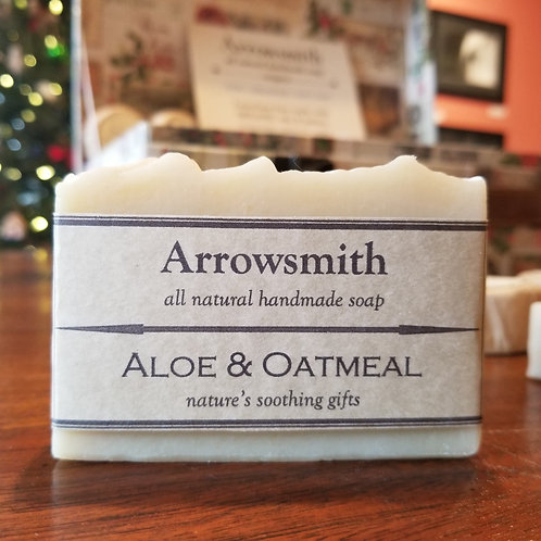 Aloe & Oatmeal | Arrowsmith Soap