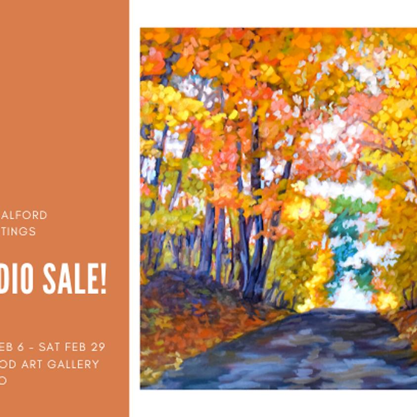 Studio Sale of Kerry's older paintings! (1)