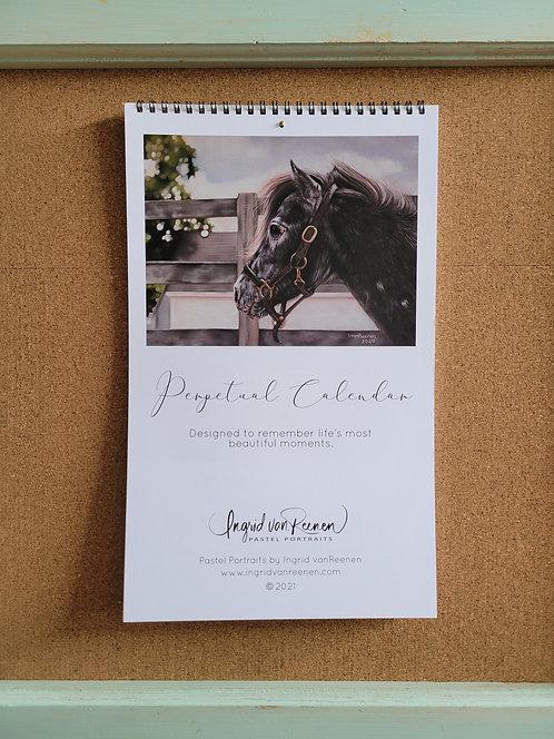 Perpetual Calendar - Ingrid vanReenen