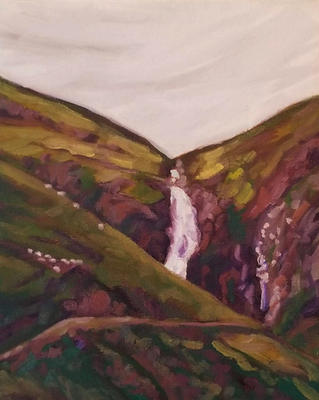Grey Mares Tail Waterfall, Scotland