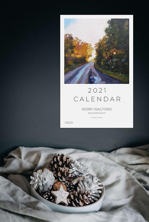 2021 Calendar - Kerry Walford