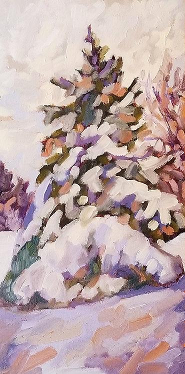 "Winter Wonderland   12""x6""   Kerry Walford"
