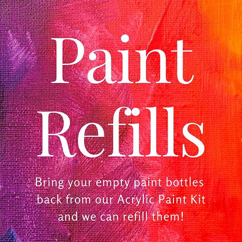 Add-on Acrylic Paint Refills