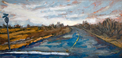"Country Stop  | 6""h x 12""w 