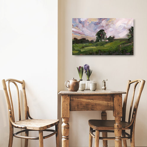 """'Over the Hill' Giclée Print 