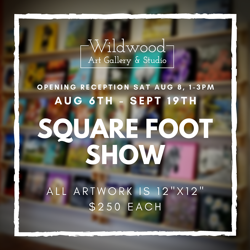 Annual Square Foot Show - Postponed