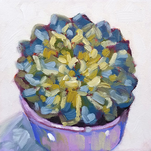 """Happy Little Succulent 